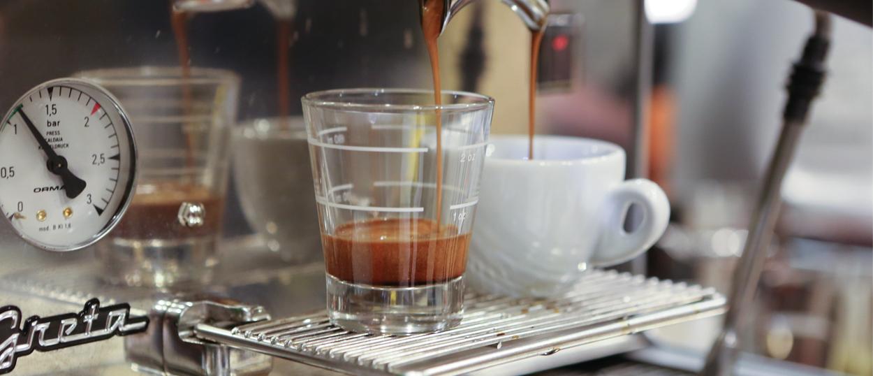 Espresso mit dem gewissen Kick!
