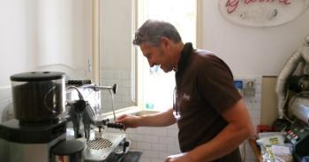 Espressovergnügen bei Caffè Grosmi