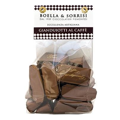 Gianduiotti aus Italien bei Beans Kaffeespezialitäten Wien
