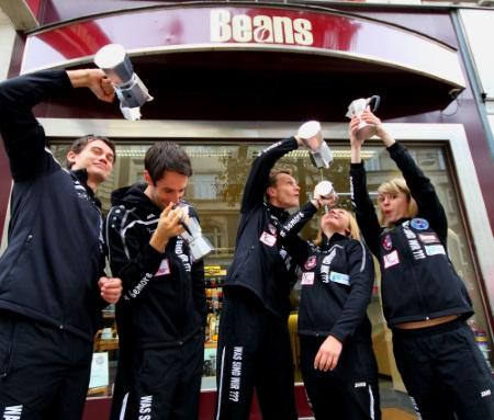 Team Taekibo gesponsert von Beans