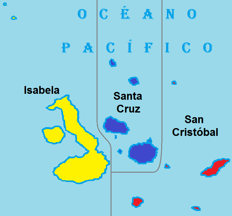 Galapgos San Cristobal single Origin Map