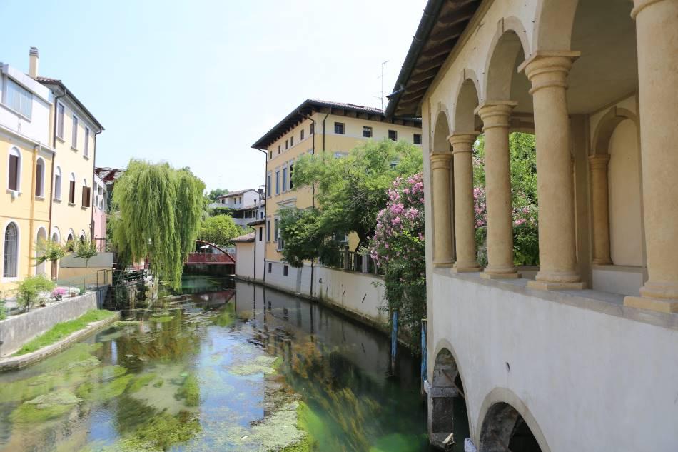 Sacile das kleine Venedig
