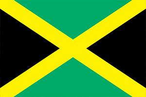 Jamaicanische Fahne