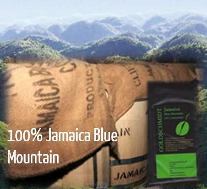 100% Jamaica Blue Mountain Kaffee Beans Wien