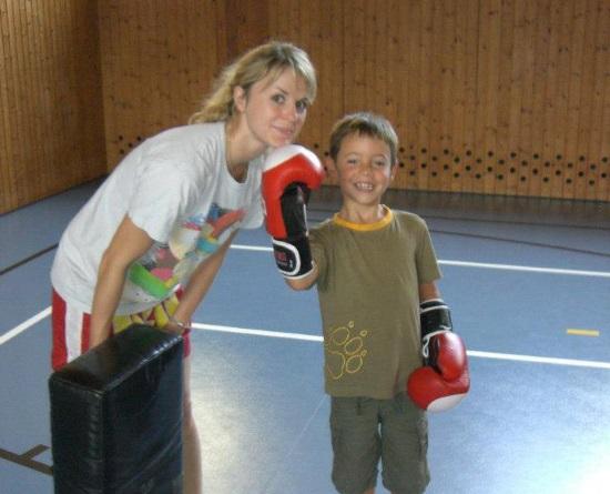Kindertraining Team Tae Kibo Wien