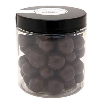 Dragees aus dem Piemont mit dunkler Schokolade umhüllt