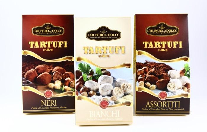 Tartufi Trüffelschokolade aus dem Piemont bei Beans Wien