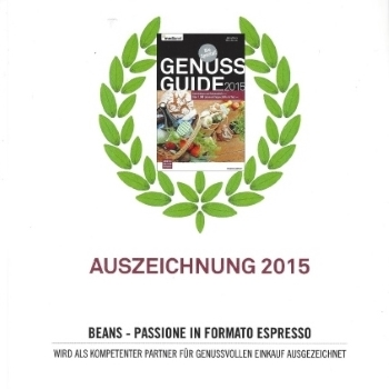 Beans Genuss Guide 2015 Reward