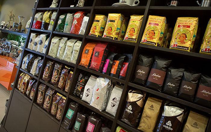75 Sorten Kaffee aus Italien bei Beans Kaffeespezialitäten Wien| Geschäft und Online Shop