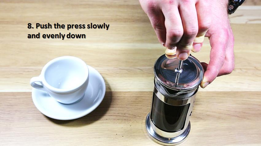 Brewing guide - French Press - extract