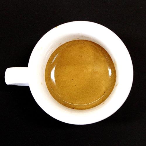Unterextrahierter Espresso