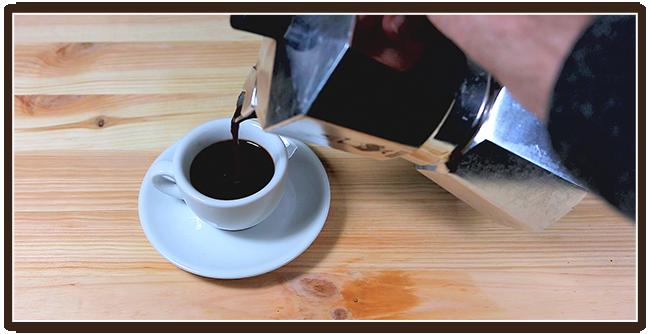 Espressokocher Mokkakanne Anleitung - Genießen