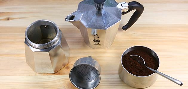 Coffee Preparation - with pressure - the Moka Pot
