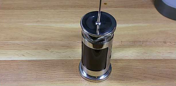 Brewing guide - French Press - brew