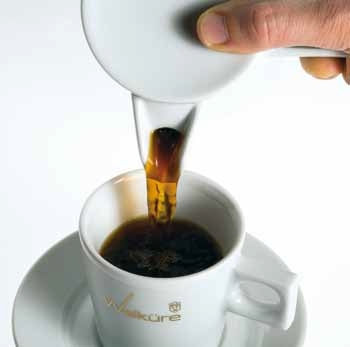 Kaffeezubereitung mit der Karlsbader Kanne