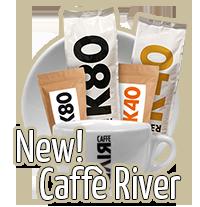 Caffè River | New | Beans Kaffeespezialitäten