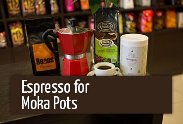 Coffee for moka pots