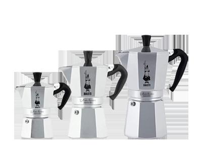 Original italienische Espressokocher im Shop in Wien und Online erhältlich