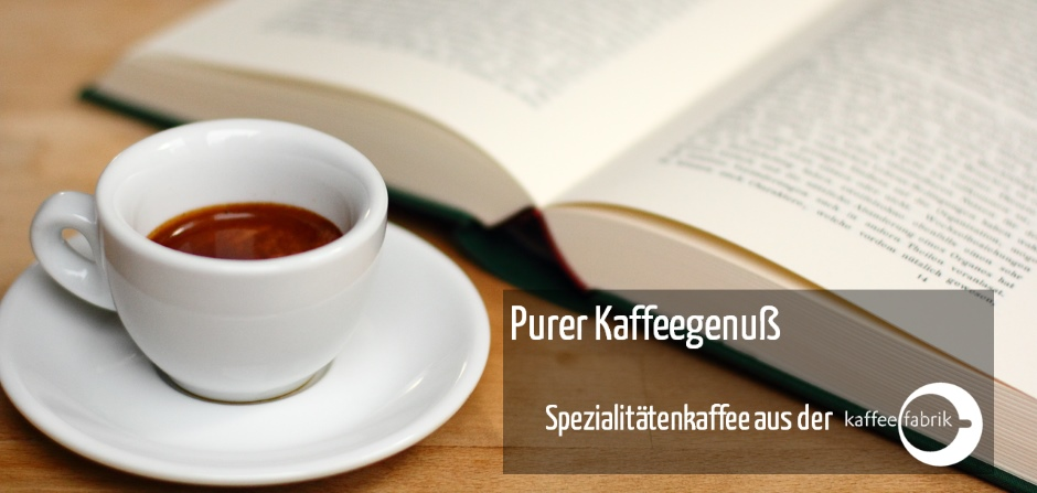 Specialty Coffee der Kaffeefabrik
